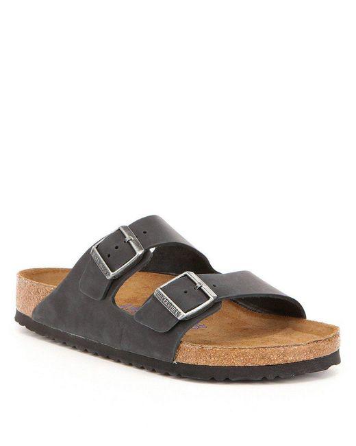 Birkenstock | Black Men ́s Soft Footbed Sandal for Men | Lyst