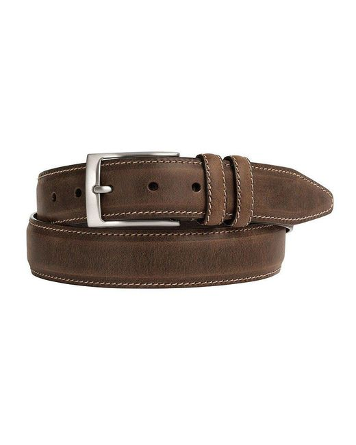 Johnston & Murphy | Brown Distressed Casual Belt for Men | Lyst