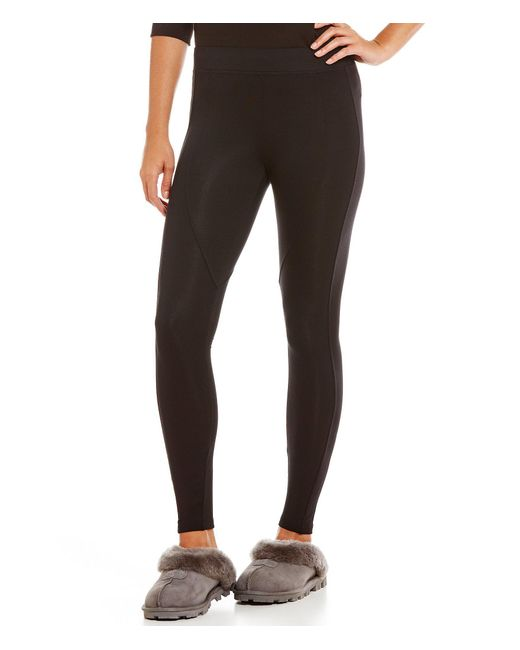 Ugg - Black ® Watts Micro French Terry Lounge Leggings - Lyst