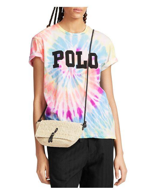 8fa7e22b8423e1 Polo Ralph Lauren - Multicolor Big Fit Tie-dye Cotton Tee - Lyst ...