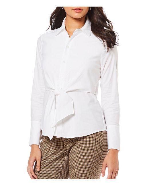 Antonio Melani - White Ann Tie Front Novelty Shirting Blouse - Lyst