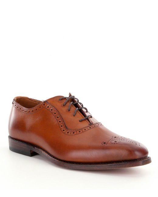 Allen Edmonds - Brown Allen Edmonds Men ́s Cornwallis Leather Lace-up Dress Oxfords for Men - Lyst