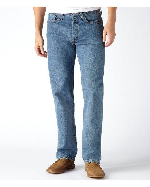 Levi's - Blue ® 501® Original Fit Jeans for Men - Lyst