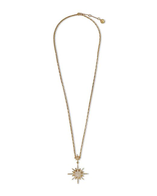 Vince Camuto - Metallic Starburst Pendant Necklace - Lyst