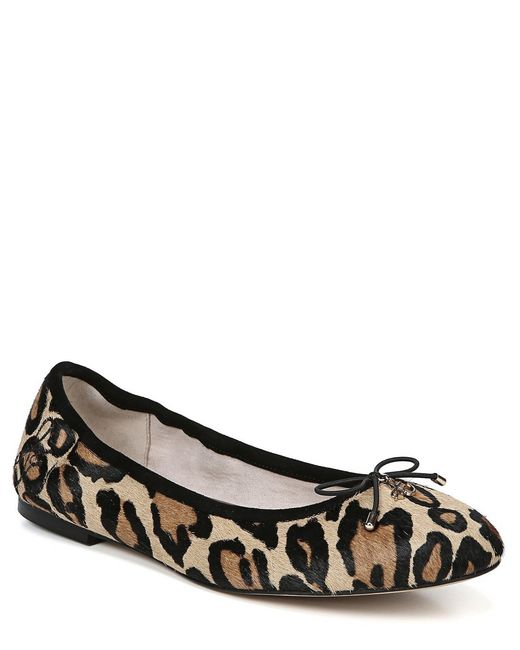 78232c0a87fe25 Sam Edelman - Brown Felicia Leopard-print Flats - Lyst ...