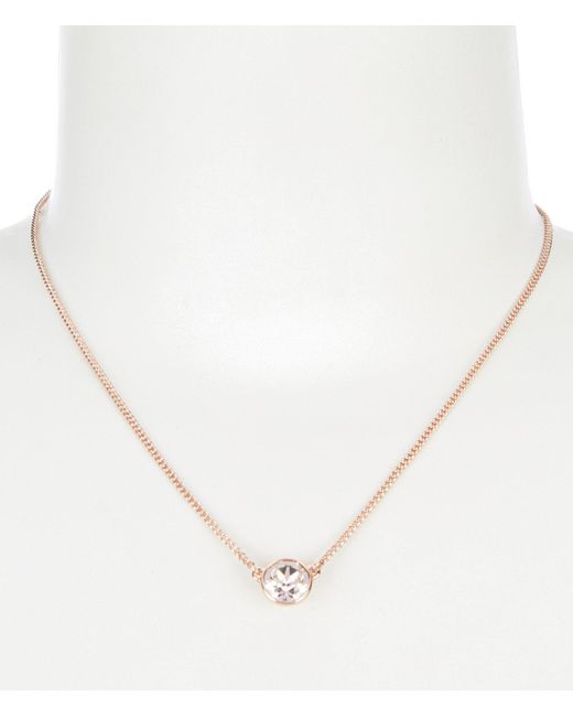 Givenchy - Metallic Pendant Necklace - Lyst
