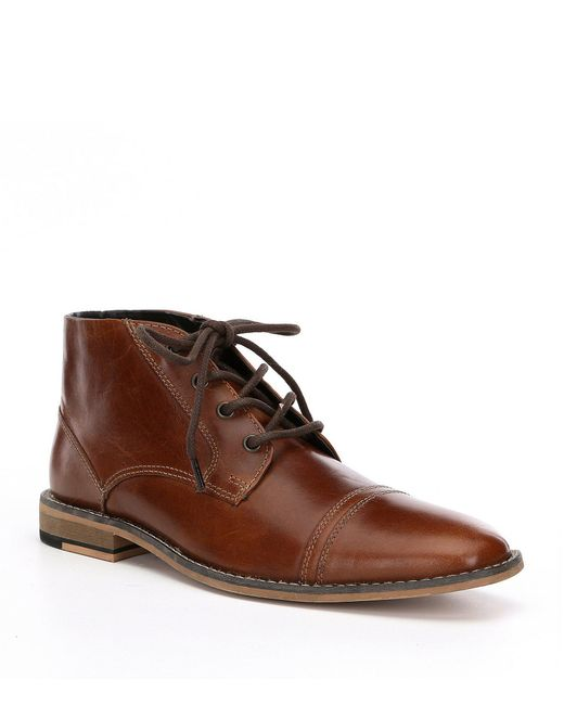 Kenneth Cole Reaction - Brown Men's Kirve Chukka Boots for Men - Lyst