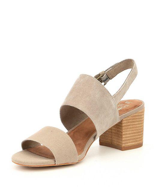 c0a262d6652 ... TOMS - Multicolor Poppy Sandals - Lyst ...