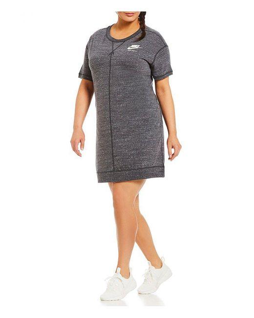 Nike - Black Plus Gym Vintage Dress - Lyst