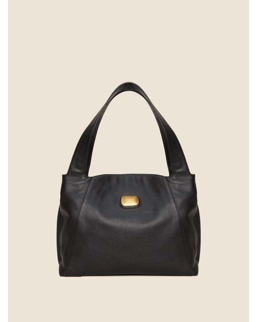 ... DKNY - Black Leather Hobo Bag - Lyst ... cbc9bf4c122ef