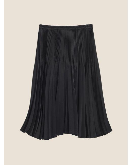3f67876db DKNY - Black Pleated Skirt - Lyst ...