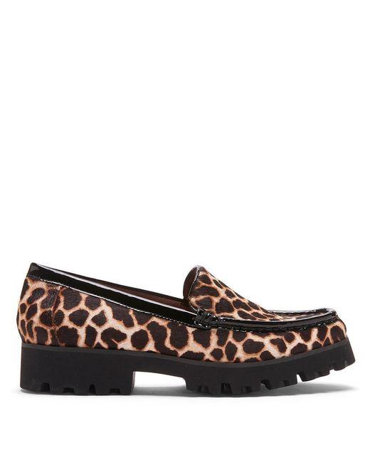 Donald J Pliner | Multicolor Multi Giraffe Haircalf Loafer | Lyst