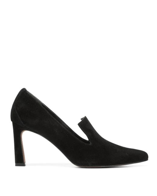 Donald J Pliner | Black Kid Suede Pump | Lyst