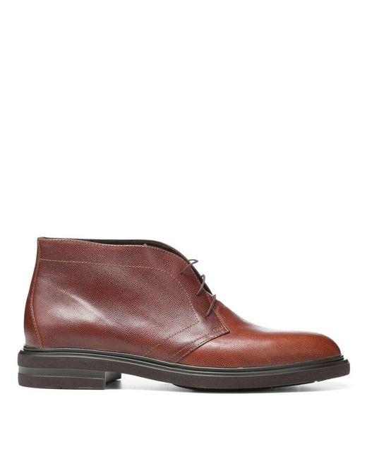 Donald J Pliner | Brown Grain Leather Boot for Men | Lyst