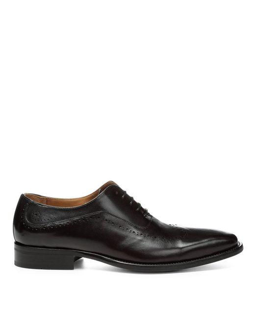 Donald J Pliner | Black Calf Leather Oxfordâ for Men | Lyst