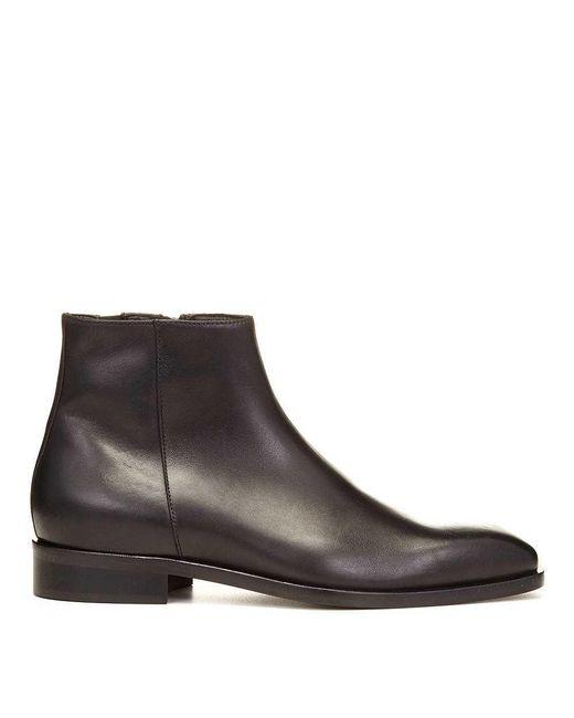 Donald J Pliner - Brown Vinicio Calf Leather Boot for Men - Lyst