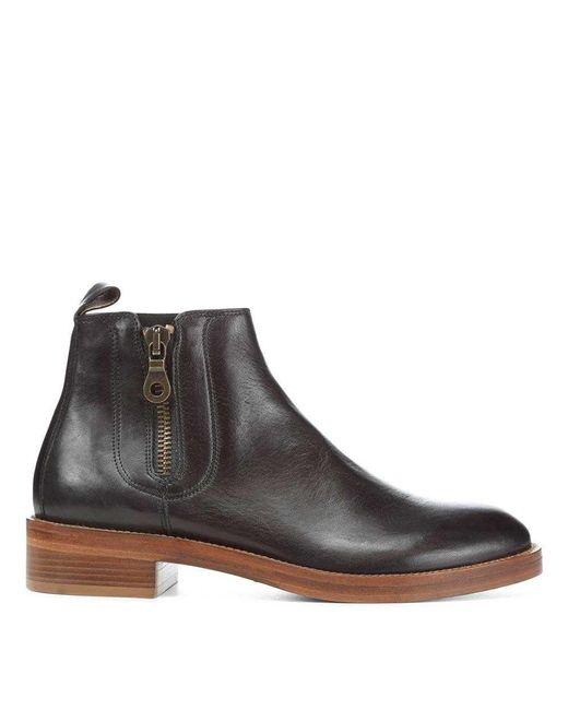 Donald J Pliner | Black Giraldo Vachetta Leather Boot for Men | Lyst