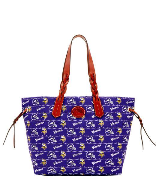 Dooney & Bourke NFL Zip Top Shopper (Kansas City) Top-Zip Handbags ZPiqsi