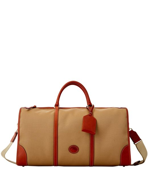 Dooney & Bourke - Brown Getaway Cabriolet Gym Bag - Lyst