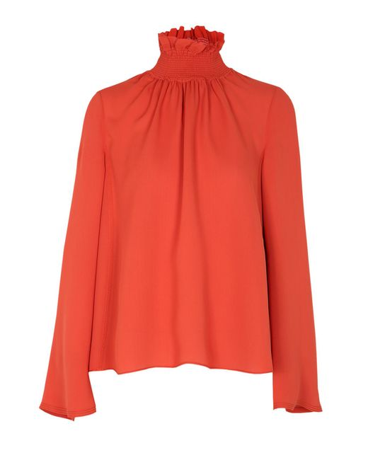 Dorothee Schumacher | Red Woman In Love Blouse | Lyst