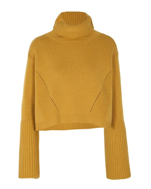 Dorothee Schumacher | Yellow Powerful Ease Pullover Turtleneck 1/1 | Lyst