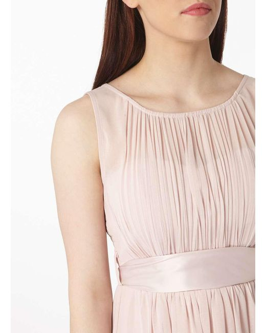 Dorothy Perkins | Pink Showcase Petite Blush 'natalie' Maxi Dress | Lyst