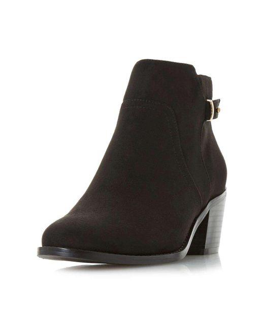 Acheter Paiement Visa Pas Cher Dorothy Perkins Head Over Heels by Dune Black 'Piyah' Ankle Boots Pas Cher Réel Authentique 4vGE2fv