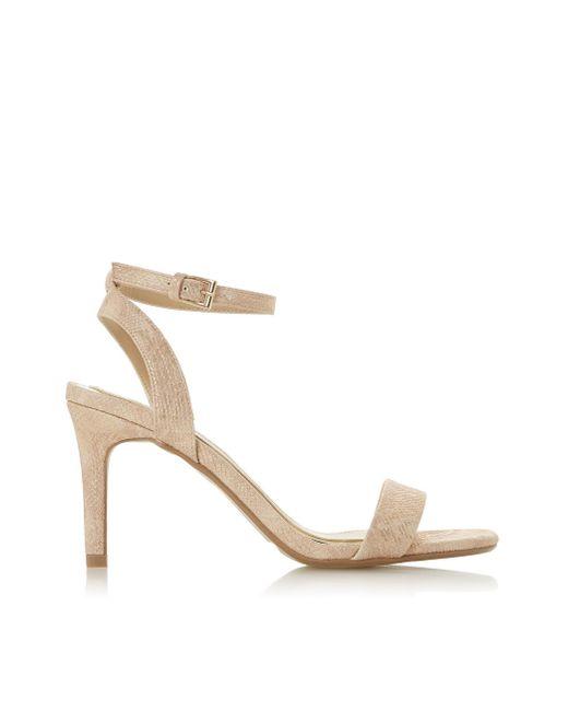 8d6d28c38b9 Dorothy Perkins - Natural Head Over Heels By Dune Nude  milania  Mid Heel  Sandals ...