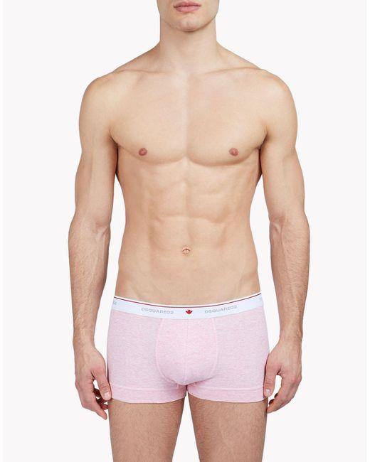 DSquared² | Pink Trunks for Men | Lyst