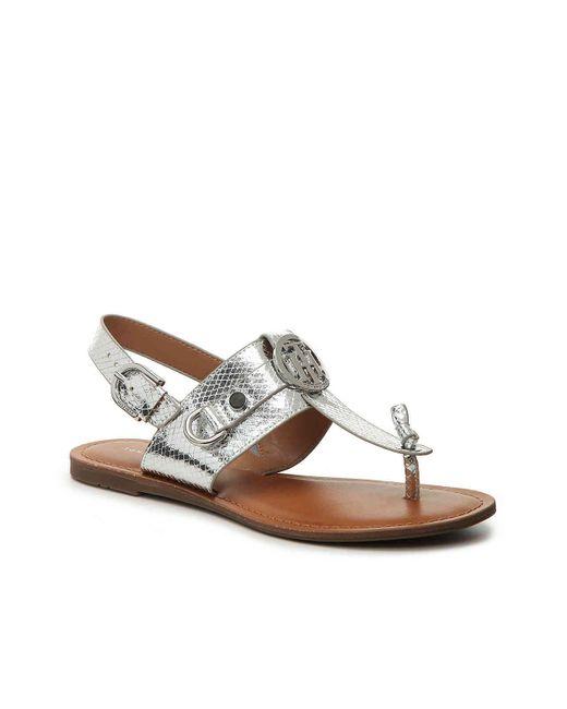 Tommy Hilfiger - Metallic Luvee (brown) Women's Shoes - Lyst