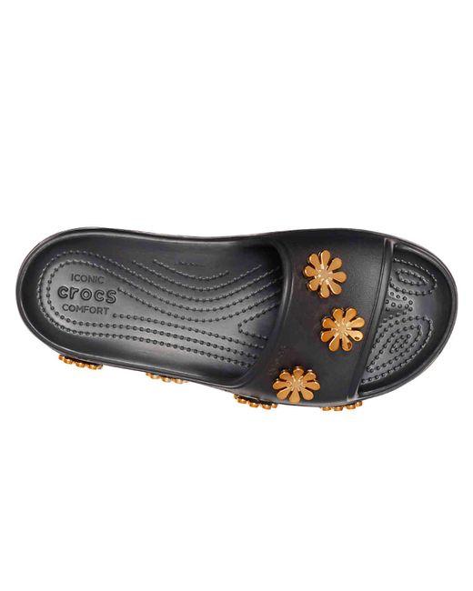ff0112752 ... Crocs™ - Black Cb Platform Slide Sandal - Lyst ...