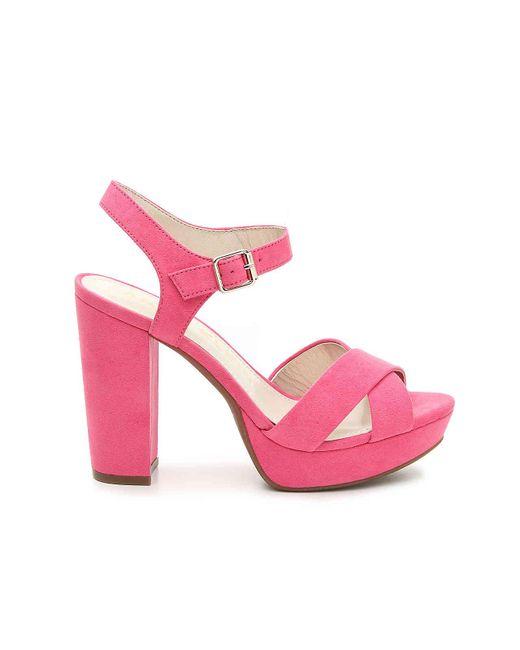cf9e679443ea ... Anne Klein - Pink Lalima Platform Sandal - Lyst ...