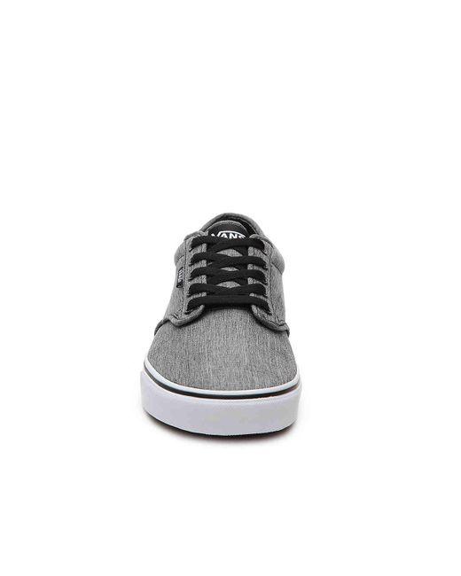 ... Vans - Gray Atwood Sneaker for Men - Lyst ... c1d9c3c1d