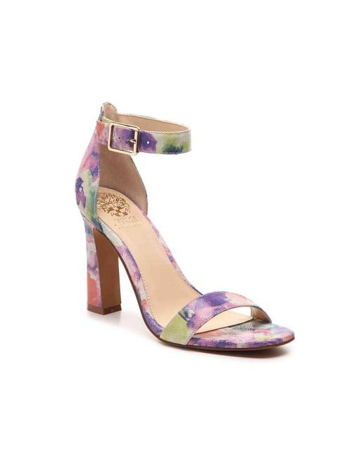 Lyst Vince Camuto Acelyn Sandal In Purple