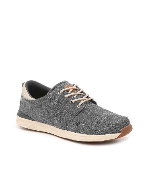 Reef - Black Rover Sneaker for Men - Lyst