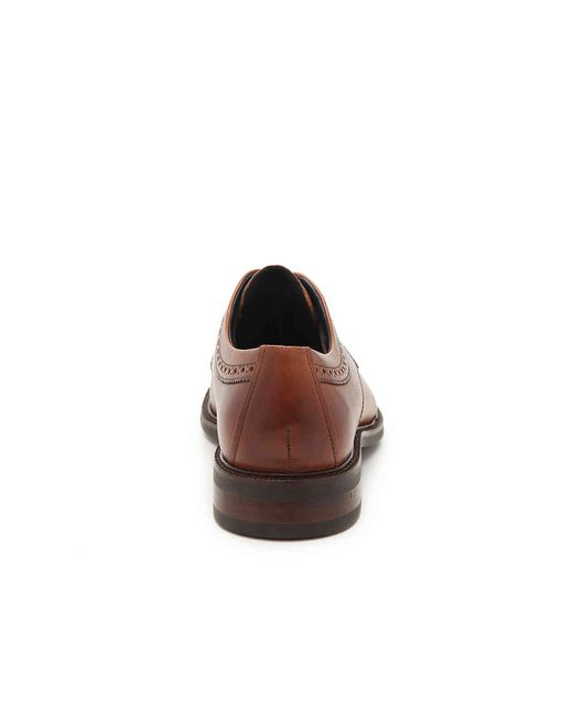 94ea3aa7cbd4a0 Cole Haan Buckland Cap Toe Oxford in Brown for Men - Lyst
