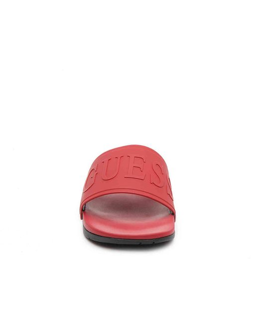 e22e6bb25d6d Lyst - Guess Delfino Sandal in Red for Men - Save 32%