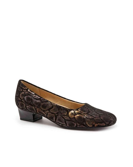 Trotters - Black Doris Pump - Lyst