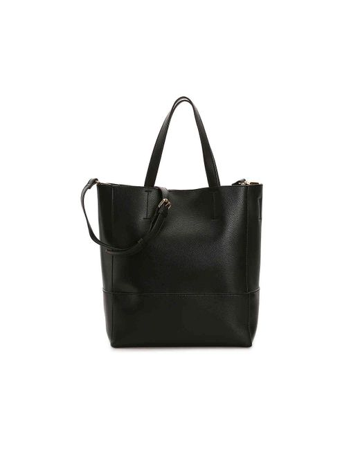Urban Expressions - Black Top Handle Tote - Lyst