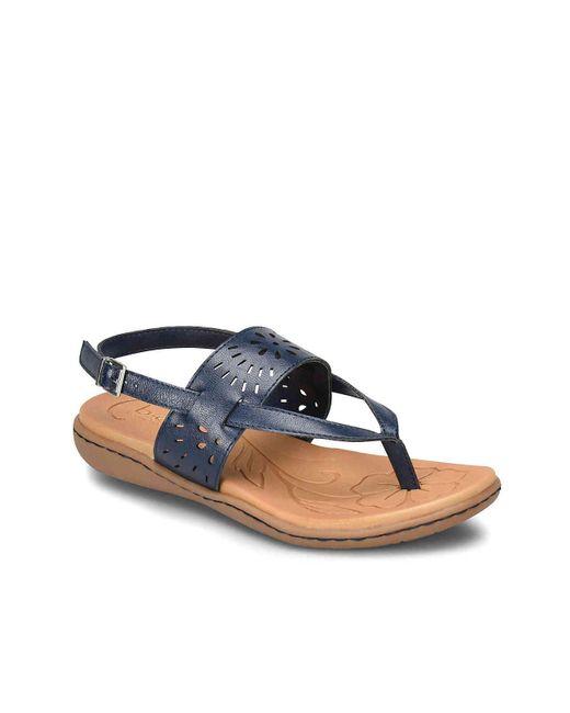 b.ø.c. - Blue Clearwater Sandal - Lyst