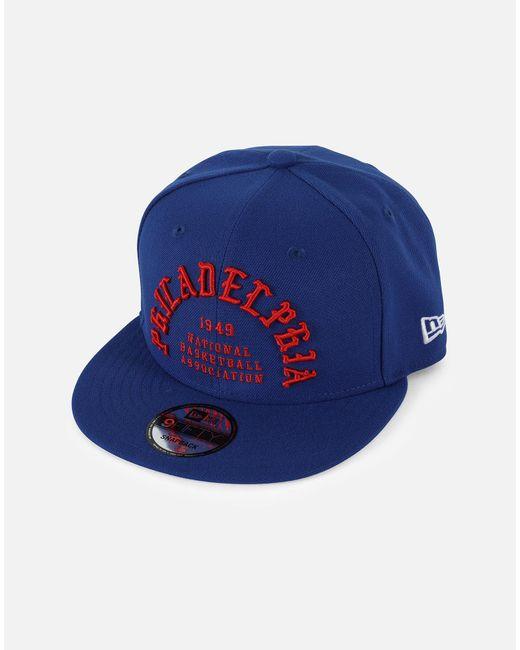 a61fa67cdbc15 KTZ - Blue Nba Philadelphia 76es Team Deluxe 950 Snapback Hat for Men - Lyst  ...