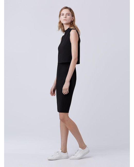 Diane von Furstenberg | Black Dvf Tali Dress | Lyst
