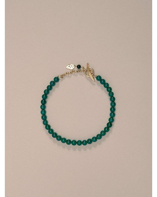 Diane von Furstenberg   Metallic Short Beaded Necklace   Lyst