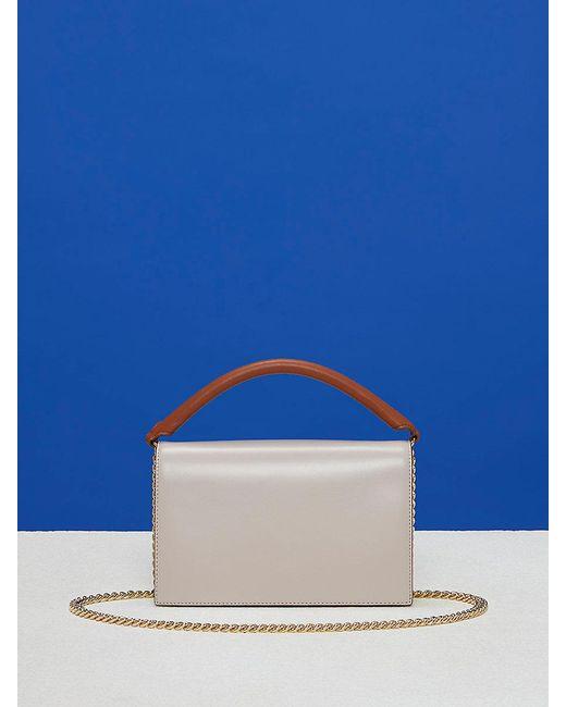 Diane von Furstenberg | Blue Bonne Soirée Bag | Lyst