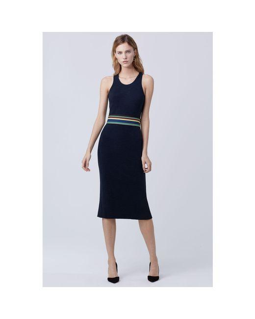 Diane von Furstenberg | Multicolor Dvf Teyla Fitted Dress | Lyst
