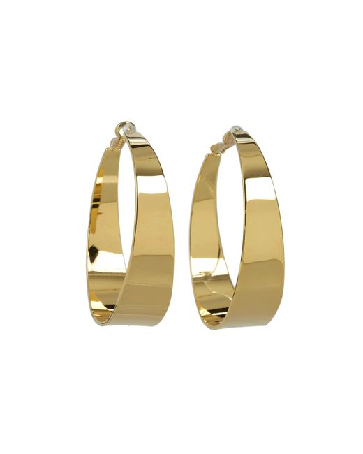Vince Camuto | Metallic Core Ears Tappered Hoops | Lyst