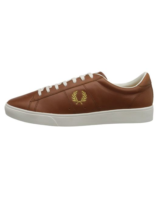Fred Perry | Brown Spencer Leather for Men | Lyst