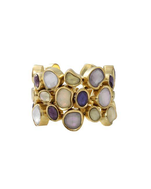 Vaubel | Metallic Stone Fill Pebble Bracelet | Lyst