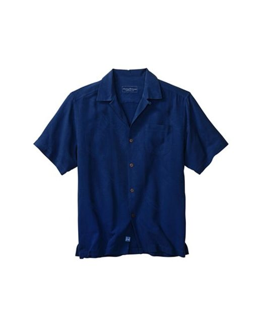 Tommy Bahama 39 Rio Fronds 39 Short Sleeve Silk Sport Shirt In