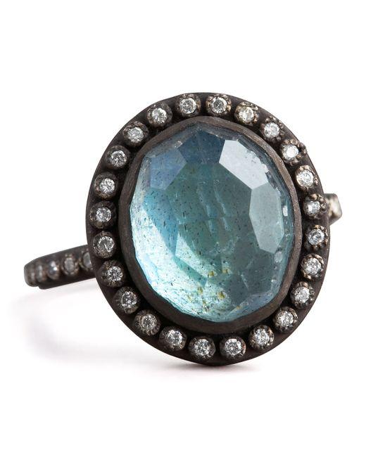 Armenta | Multicolor Labradorite & Pave Diamond Ring | Lyst
